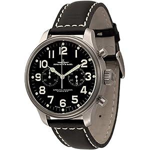 Zeno-Watch Mens Watch - OS Pilot Chronograph 2030 - 8561BH-a1