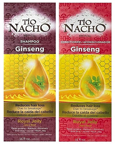 Tio Nacho GINSENG Shampoo & Conditioner Reduce Hair Loss/La Caida Del Cabello by Tio Nacho