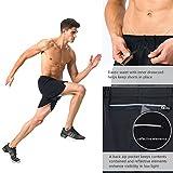 """Naviskin Men's 5"""" Quick Dry Running Shorts"""