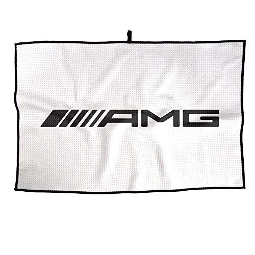 Shijingshan Amg-logo Unisex Golf Towel Sports Microfiber 23x14 Inches Player Towel Men's Gym Face Towel