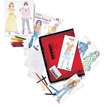 Deluxe Fashion Design Studio Kit 50 Pieces
