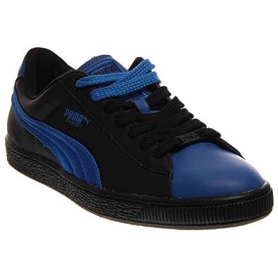 49366badc214 Puma Men s Basket Classic Urban Fashion Sneakers Princess Blue Black 8.5  D(M)