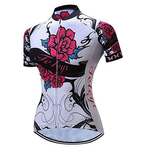 Cycling Jersey Women Short Sleeved Bike Shirt Racing Cycling Clothing Comfortable Quick Dry Wear Top