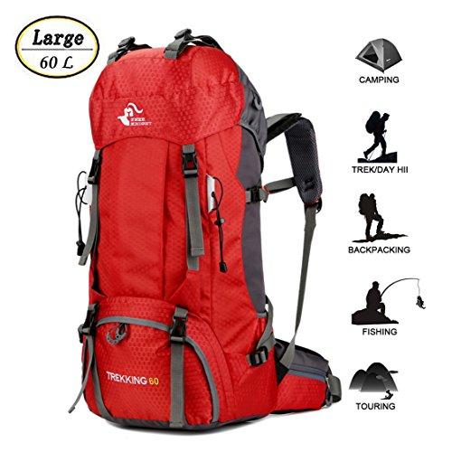 60L Waterproof Lightweight Hiking