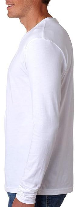 b0a76ebbd79e Amazon.com: NLA Men's Premium Fitted Long Sleeve Crew Neck Shirt: Clothing