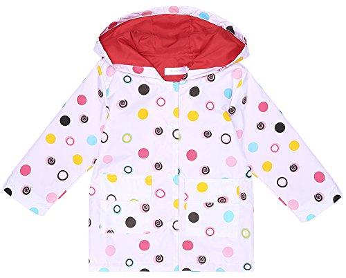 Hooded Girls Raincoat - 7