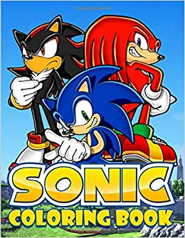 Amazon Com Sonic Coloring Book Exclusive Work 33