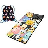 Tsum Tsum Girls Sleeping Slumber Bag and Sling Tote