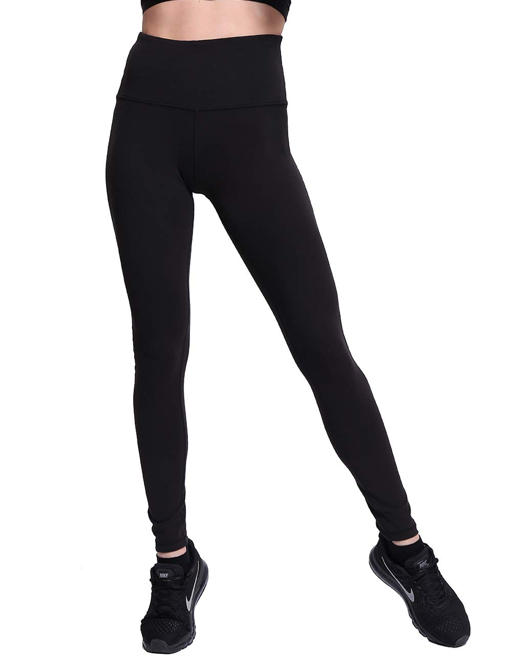 8b0e862e556 NORMOV High Waist Yoga Pants for Women-Stretchy Inner Hidden Pockets ...