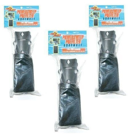 Zoo Sweep Power ((3 Pack) Zoo Med Prefilter for All Power Sweep Power Heads)