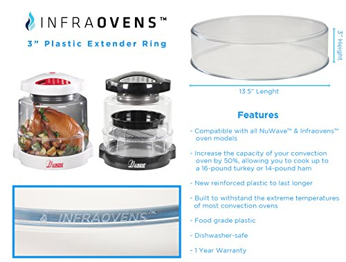 Nuwave Oven Dome Replacement For Pro Models Bundles With