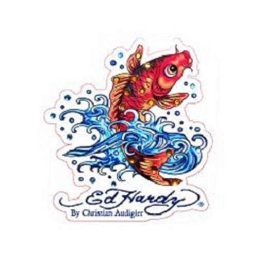 - Ed Hardy Koi Fish Crystal Cling Bling