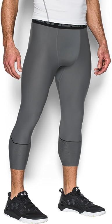 Under Armour HeatGear ® Men/'s 3//4 Compression Leggings
