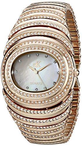 Adee Kaye Women's AK21-LRG/C Romance Collection Analog Display Analog Quartz Rose Gold Watch