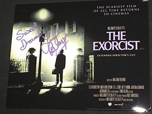 LINDA BLAIR Signed 8x10 Photo Autograph Sweet Dreams The Excorcist Regan C