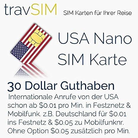 Tarjeta SIM para los Estados Unidos & Puerto Rico (Tel/SMS ...