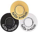 H-2017-3-HS Sun Hat Bundle - Hello Sunshine - Black, White, Natural