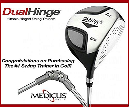 - Medicus Dual-Hinged Golf Swing Plane Training Driver, right, Mens