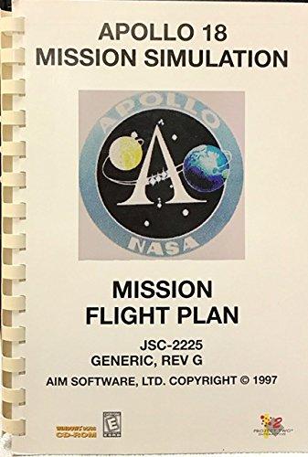 Apollo 18 Mission Simulation, Mission Flight Plan, JSC-2225 Generic, Rev G