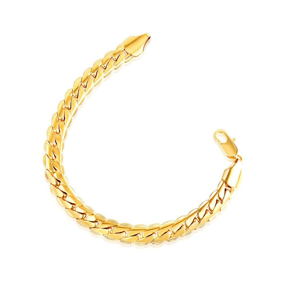 Marwar 18k Pure Gold Women Bracelet Girl Genuine Real Solid 750 Gift Female Bangle
