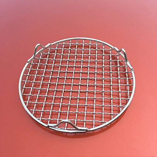 Turbokey Canning Racks for Pot Dia 12'' Carbon Baking Net Grill Pan Grate Multi-Purpose Cross Wire Rack Round Steaming Cooling Stainless Steel (305mm/12'') by Turbokey (Image #6)