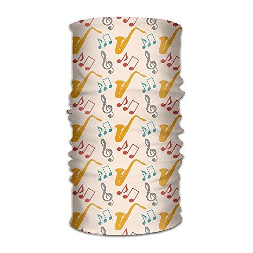Musical Music Notes Saxophone Elegant Fashion Athletic Bandana Headbands,Head Wrap,Yoga Headband,Head Sarf,Hair Band For Women Men Children Running - Music Note Sunglasses