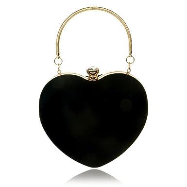 HT Evening Bag - Cartera de mano para mujer negro negro talla única: Amazon.es: Ropa y accesorios