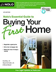There's no place like home!  The number of homes for sale is on the rise and mortgage rates remain near historic lows. That makes now a great time to say goodbye to your landlord. With Nolo's Essential Guide to Buying Your First Home, you'll ...