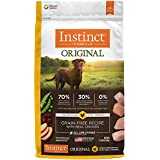Instinct Original Grain Free Recipe with Real Chicken Natural Dry Dog Food by Nature's Variety, 11 lb. Bag
