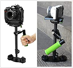 IMORDEN Carbon Fiber S-40c Handheld Camera Stabilizer for Gopro, Sony, Panasonic DSLR Camera(0.5~2.3lbs) with Quick Release Plate and Counterweight(100g, 50g)