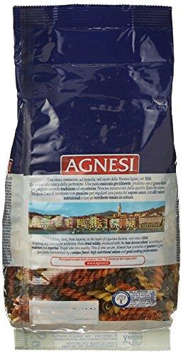 Agnesi Eliche Tricolor Pasta, 500g