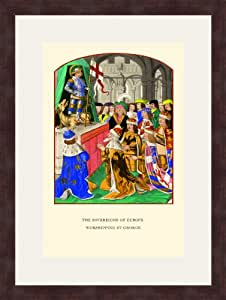 Sovereigns of Europe 12x18 Archival Ink-JetPprint, Matted and Framed