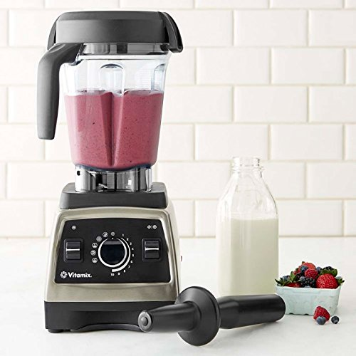 6. Vitamix Pro Series 750 Brushed Stainless Finish with 64oz Container and Cookbook, Heritage