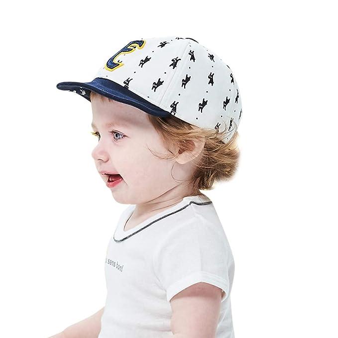 dcf0bb8806e664 Vivobiniya Newborn Boy Summer Hats Baby Sun Hats Little Bear Baseball Cap  0-4y (