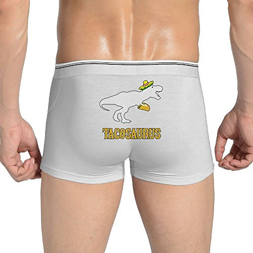 (Mkajkkok Tacosaurus Men's Underwear Cotton Stretch Panties Underwear.)
