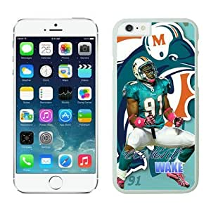 Miami Dolphins Cameron Wake Case Cover For Ipod Touch 5 NFL Cases White NIC12624