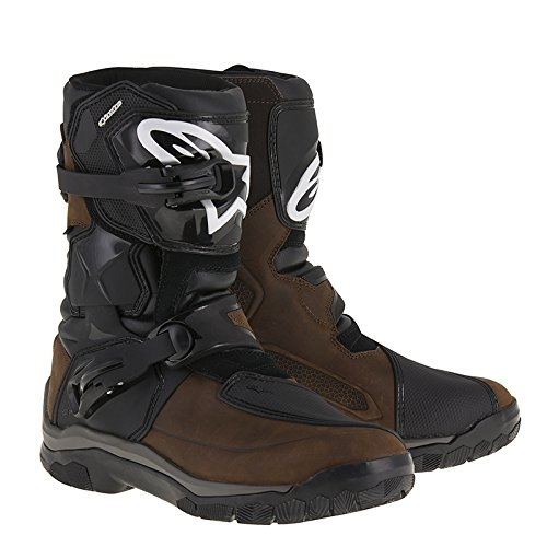 - Alpinestars Belize Drystar Touring Oiled Leather Boots Brown 13 USA