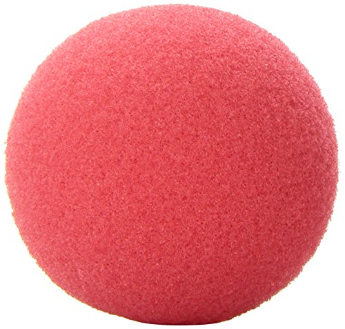 Rhode Island Novelty Foam Clown Nose, Red pack