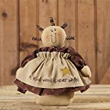 Audrey's Primitive Doll ~ A Kind Word is Never Wasted