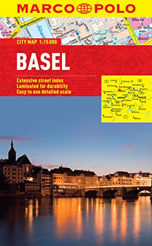 Basel Marco Polo Laminated City Map (Marco Polo Guide)