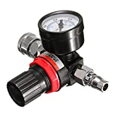 Electrical Gadgets & Tools - Air Pressure Regulator Gauge Regulator Pressure Regulating Valve for Spray Gun