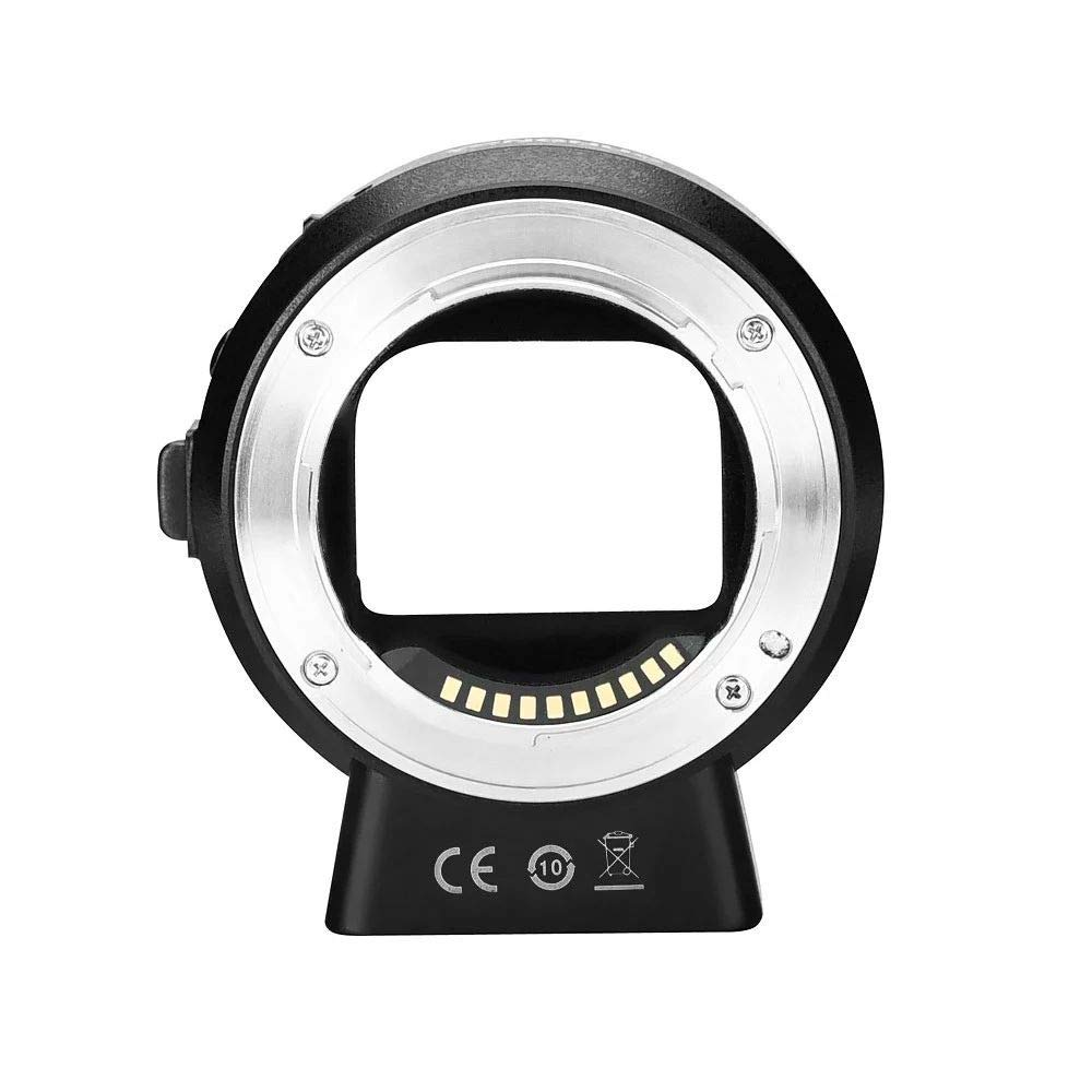 YONGNUO EF-E II Lens Mount Adapter Ring with Auto Focus for Canon EF/EF-S Series & YONGNUO Lens Compatible for Sony E-Mount Camera for Sony a6300 a6000 A7MII A7RIII A7 by Unknown