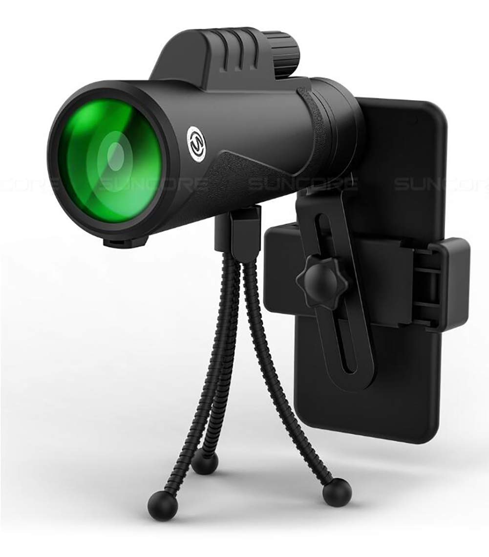 独特な CompraJunta 単眼鏡 望遠鏡 10x42mm HD スポッティングスコープ 単眼鏡 三脚と携帯電話マウント付き ハイキング キャンプ サッカーゲーム コンサートやバードウォッチングに最適   B07L2XXC4S, ビセイチョウ 35cc5fd8