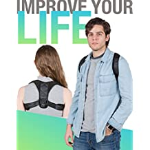Posture Corrector for Men, Women & Youngsters - Back Brace Support to Relief Clavicle and Back Pain - Adjustable & One Size Fits All