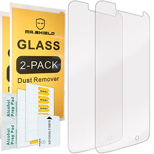[2-PACK]-Mr Shield For Motorola Moto G4 Play / Moto G Play [Tempered Glass] Screen Protector with Lifetime Replacement Warranty