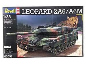 Revell 03097 - Maqueta de tanque Leopard 2A6 / A6M (escala 1:35)