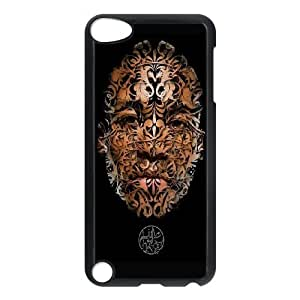 Durable Hard cover Customized TPU case Lupe Fiasco iPod Touch 5 Case Black