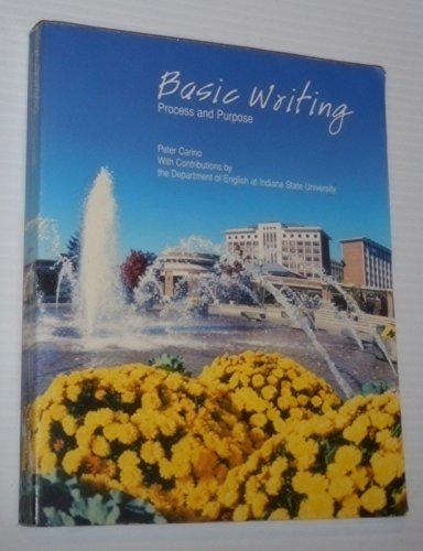 Basic Writing Process & Purpose