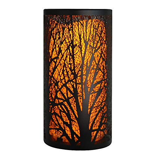 Flameless led Candle Light with Metal Bright Lanterns, Battery Powered, for Indoor and Outdoor Home Party Decoration, Wedding, Christmas Gifts, etc.