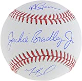Andrew Benintendi, Mookie Betts and Jackie Bradley Jr. Boston Red Sox Triple-Signed Baseball - Fanatics Authentic Certified